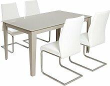 Santiago Pons Gedeckter Tisch mit 4 Stühlen
