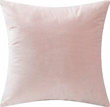SANTIAN Back Stuffed Kissen Kissen Taille Kissen Lotus 30x50cm (Pillow core + pillowcase)