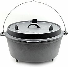 Santos Gusseisen Dutch Oven - mit Füßen - 11