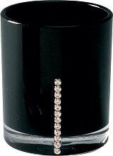 Sanwood by Nicol 6942025 Marilyn Becher mit Swarowski Elements, Durchmesser 8,5 x 7 cm, schwarz