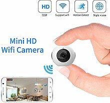 SanyaoDU Mini-Kamera WiFi IP-HD Nachtsicht-720P