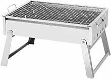 SAOKJ Barbecue-Grill, zusammenklappbar, in