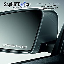 Saphir Design 4X ////AMG Milchglasfolie für