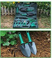 SAPHRANK 10 Stück Gartengeräte Set Leicht