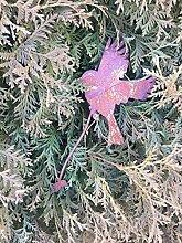 Saremo Astvogel Fliegender Vogel Edelrost