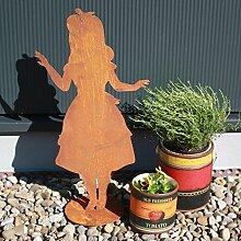 SAREMO Rost Alice auf Platte, H ca. 60 cm