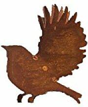 Saremo Vögelchen mit aufgebogenen Flügeln 3D