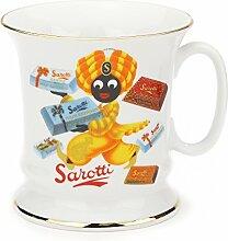 Sarotti - Kaffeehaferl, Motiv: Tafeln, Tassenhöhe