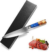 Sashimi-Messer Damaskus Chefs Messer Küche