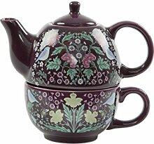 Sass & Belle Teekanne und Tasse Set für 1 Person