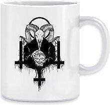 Satan Wird Voraus Kaffeebecher Becher Tassen