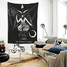 Satanischer Dämonen-Teufel, Ritual, heidnischer