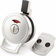 Satin Badezimmer WC Ausstattung WC-Tür-Verschluss-Indikator Schraubensatz