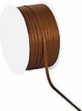 Satinband, braun, 3 mm, 50 m