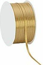 Satinband, gold, 3 mm, 50 m