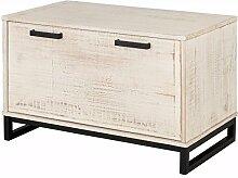 Saturn Truhe Kiste Bank Sitzbank mit Stauraum