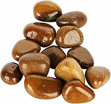 Satyamani Natural Yellow Jasper Tumble Stone (500
