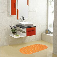 Saug-cup Mat/Anti-rutsch Badvorleger/Dusche Zimmer Badematten/Badezimmer-matten/Fußabtreter/Kissen-B 38x68cm(15x27inch)