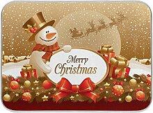 Saugstarke Weihnachtsgeschirr-Abtropfmatten –