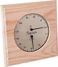 Sauna Hygrometer Thermometer Basic Klimamesser Meßgerät Kombinationsanzeiger