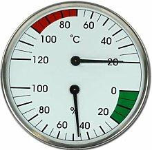 Sauna Instrument Thermometer Hygrometer Dampfbad Modell ELECSA 9010