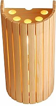 Sauna Lampenschirm 914 aus Nadelholz. Eck- oder Wandmontage