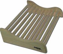 SAUNA Rückenlehne Fichtenholz Nackenstütze Wave Modell ELECSA 9523