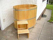 Sauna Tauchbecken aus PEFC zertifizierten Lärchenholz