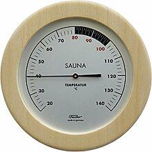 SAUNA-Thermometer - Holzgehäuse Ø 155 mm