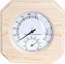Saunaraum-Thermometer Hygrometer Hygrothermograph
