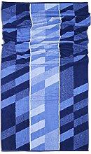 SAUNATUCH - ARCANO 100% Baumwolle 90X200 TOP QUALITY! (blau)