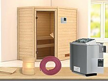 SAUNELLA Sauna mit Ofen | Gartensauna -