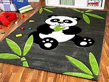 Savona Kinder Spiel Teppich Kids Pandabär,