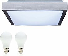 SAVONY IP20 (inkl. 2x LED Leuchtmittel E27 2x 13W)