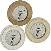 Sawo Sauna Hygrometer 231-th, rund, Kiefer, Espe Gold Zedernholz
