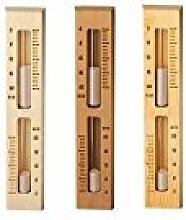 Sawo Sauna Sand Clock, 553, drehbar, Kiefer, Espe
