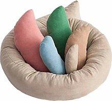 Sayletre 6 PCS/Set Baby-Fotosession Weizen Donut