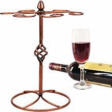 Sayou® Weinglashalter / Weinglashalterung / Weinregal / Glas Halter Mit 6 Haken