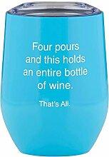 SB Design Studio Weinglas ohne Stiel 12-Ounces