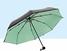 SBBCW Kreativ Mesh Gefaltet Regen Oder Sonnenschein Dual Sonnenschutz- Vinyl Taschen Im Freien Schatten Sonne Falt- Umbrella