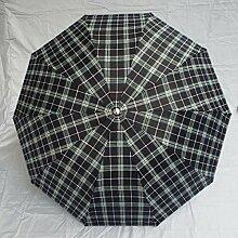SBBCW Robuste Regen Oder Sonnenschein Dual Triple Zunahme Sonnenschutz- Kreativ Sonne Regenschirm,B