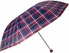 SBBCW Überprüfen Sie 7 Knochen Outdoor Veranstaltungen Männer Schatten Sonnenschutz Dual Regenschirm