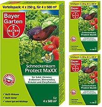 SBM 3 x (4x250g) Bayer Schneckenkorn Protect MaXX