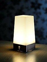 SC & mm Bewegungsmelder Tisch Lampe Helle LED