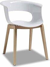 Scab Sessel Miss B Antishock / Weiß (2-er Set)