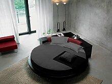 scalabedding 800tc Bett Rund 100% ägyptische Baumwolle Spannbetttuch King 243,8cm Durchmesser Massiv Grau