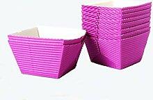 ScanCup Mini Backförmchen Violetta, 20 Stück,