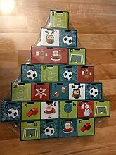 Scantrend Adventskalender zum Befüllen, Fussball