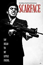 Scarface - Say Hello to My Friend - Filmposter