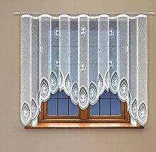 Scarlett Jacquard Fenster Net Vorhang mit Vorhang